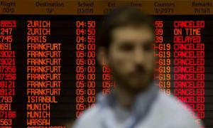 Auf dem Flughafen Tel Aviv werden nur wenige Flüge abgewickelt. / Bild: (c) Reuters (Siegfried Modola)